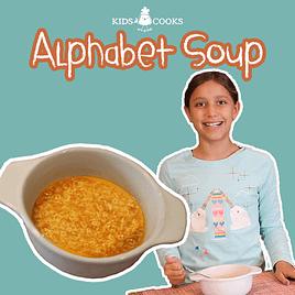alphabet soup recipe video (sopa de letras)
