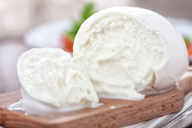 Learn About Mozzarella cheese