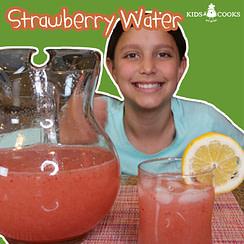 strawberry water (agua de fresa) recipe